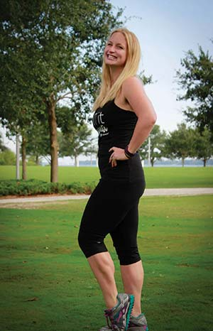 Erin DiNicola, East Cooper resident, wife, mother of four and director of four FIT4MOM locations.