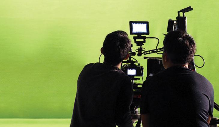 Green screen videography