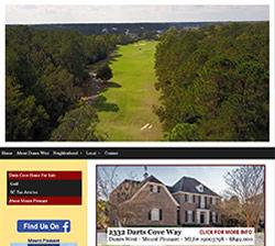 Dunes West, Mount Pleasant website