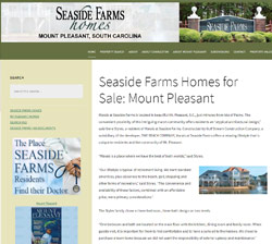 Seaside Farms Neighborhood website
