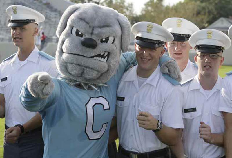 Spike the Bulldog, The Citadel's Mascot