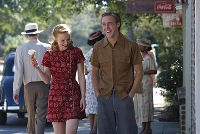 """Shooting for """"The Notebook"""" with Noah and Allie."""