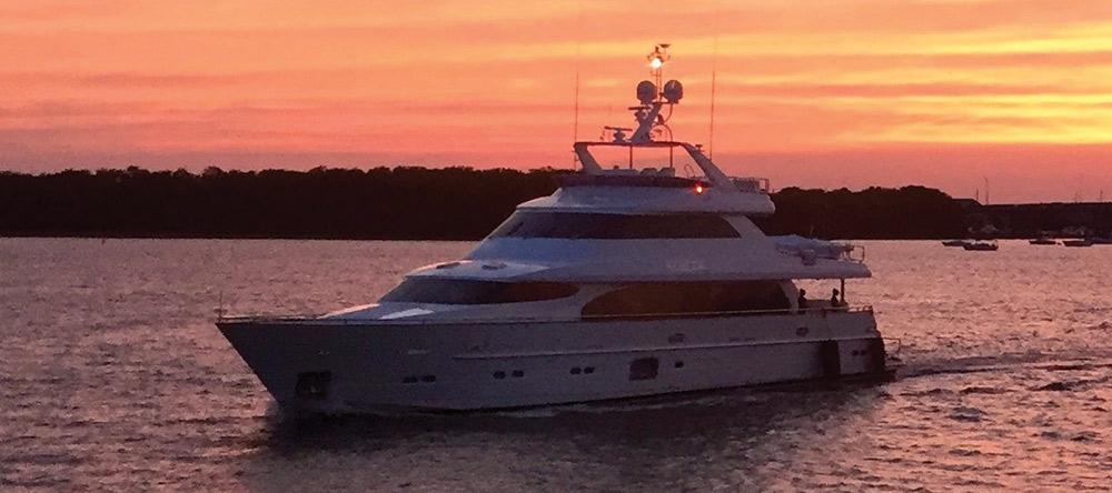 Beautiful yacht photo by Mac Finch