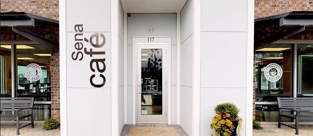 Sena Café in Mount Pleasant, South Carolina