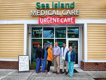 Sea Island Medical Care Urgent Care. Photo by Juli Kaplan.