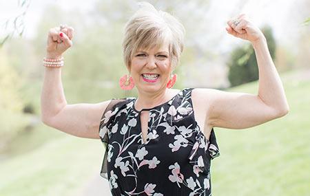Jennifer Hill Attisano, breast cancer survivor