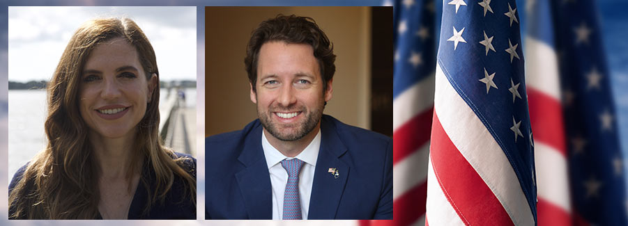 Nancy Mace and Joe Cunningham face off in the 2020 race for the U.S. House in SC's 1st congressional district
