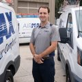 Lief Erickson, a technician for AirMax in Charleston, SC.