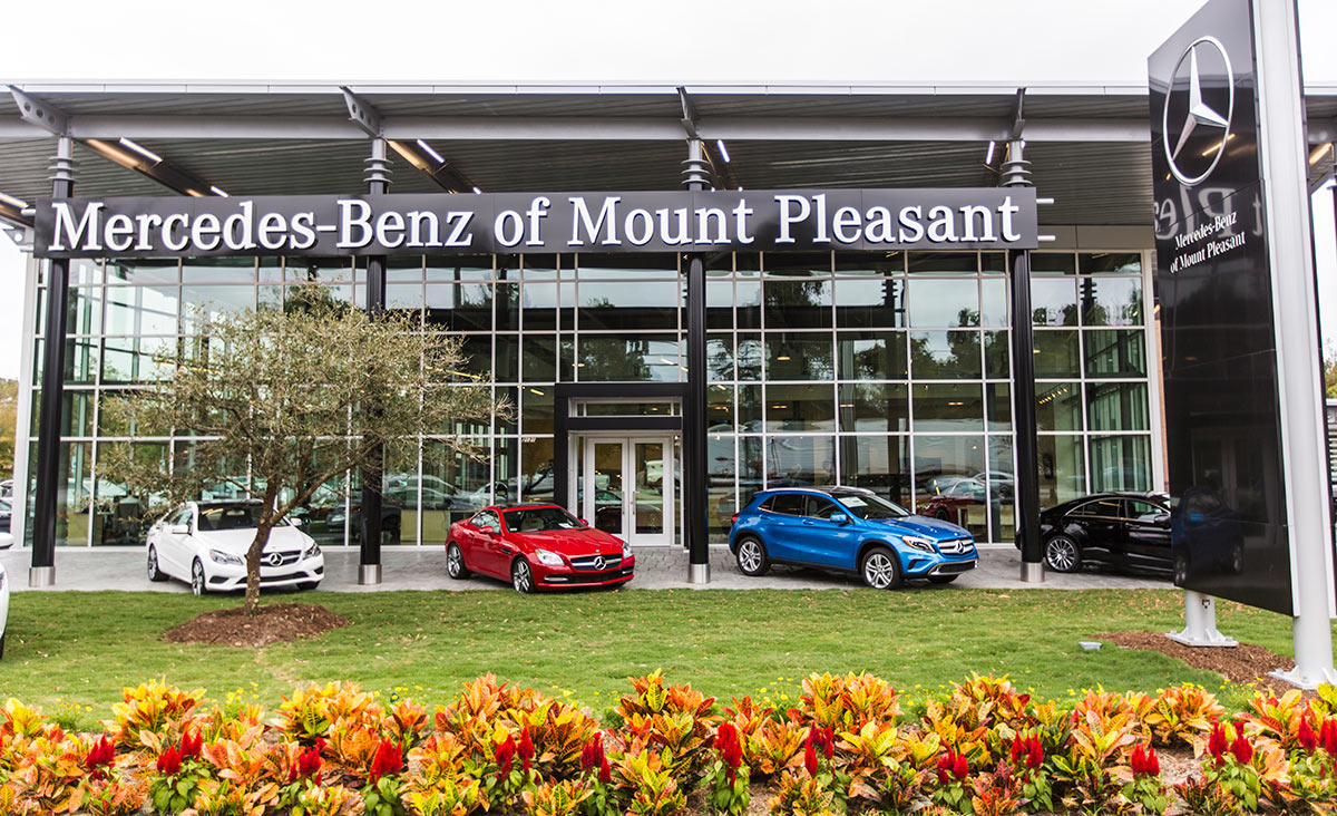 Mercedes-Benz of Mount Pleasant, owned by Baker Motor Company, Mount Pleasant, SC, named in Best of Mount Pleasant.