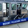 The newest addition to Mount Pleasant's Harbor Patrol fleet.