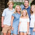 Blending Real Estate Business with Love article photo of April and Allen Coleman of Coleman Builders and their children.