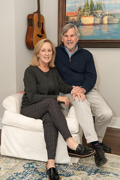 Cathy and Ed Hunnicutt of Carolina One