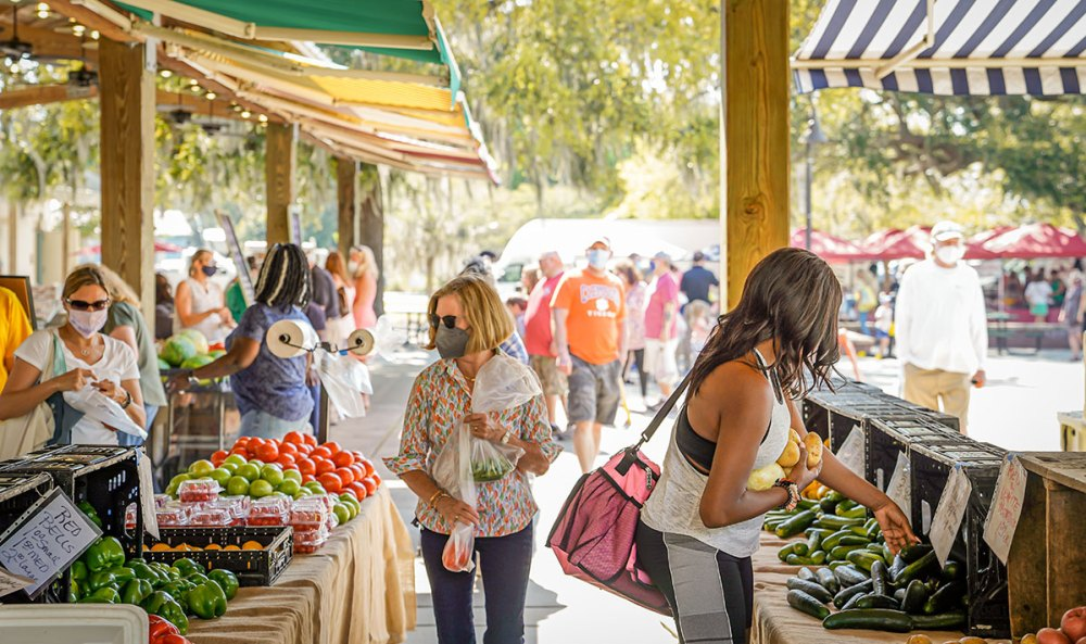MOUNT PLEASANT, SC: The Farmers Market is back with more options than ever.