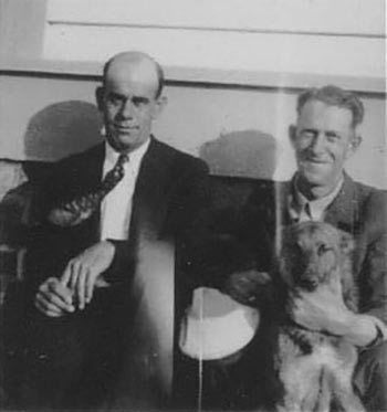 William Hecker, along with W.A. Davis, were the last two lighthouse keepers to reside on Morris Island. Photo courtesy of Save the Light, Inc.