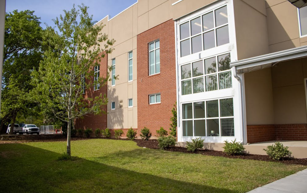 The new Student Life Center at Palmetto Christian Academy.