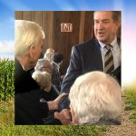 Commissioner Weathers & Willie McRae Boone Hall Plantation Corn Maze