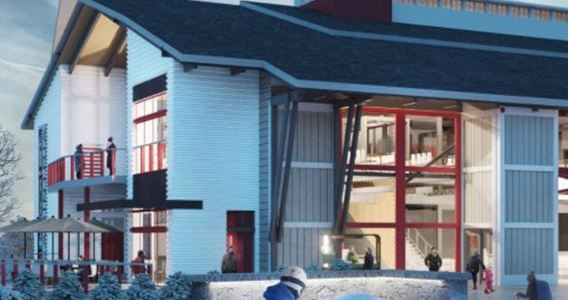 Progress update on the brand new Carinthia Base Lodge