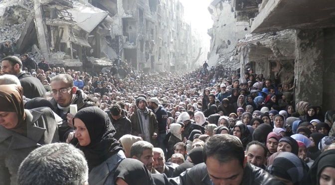 Yarmouk refugee camp