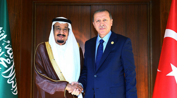 erdogan saudi king