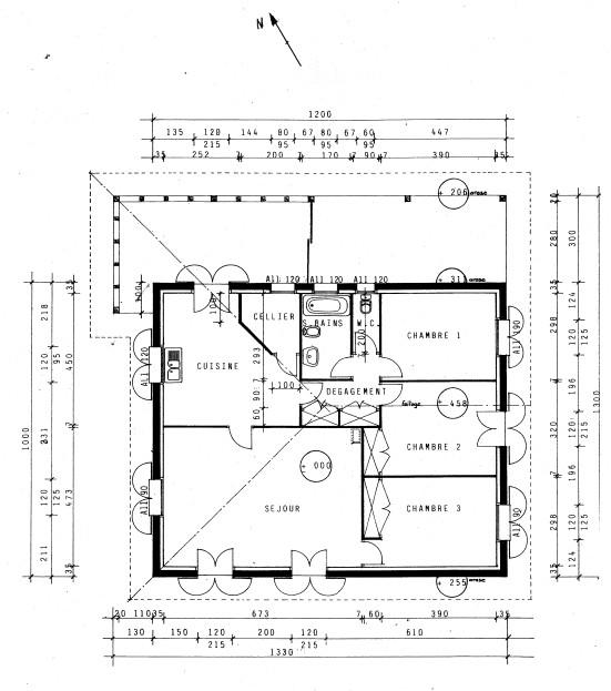 plan maison gratuit pdf