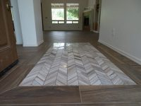 Marble Tile Entryway - Tile Design Ideas