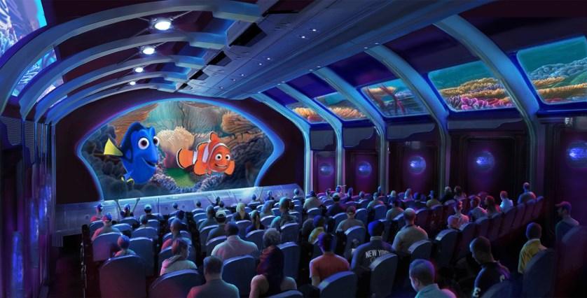 Finding Nemo attraction concept art, Tokyo DisneySea