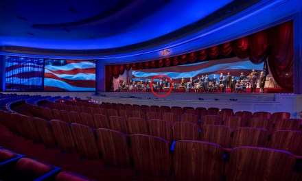 PICS: First (tiny) look at Donald Trump animatronic in updated HALL OF PRESIDENTS attraction reopening this month