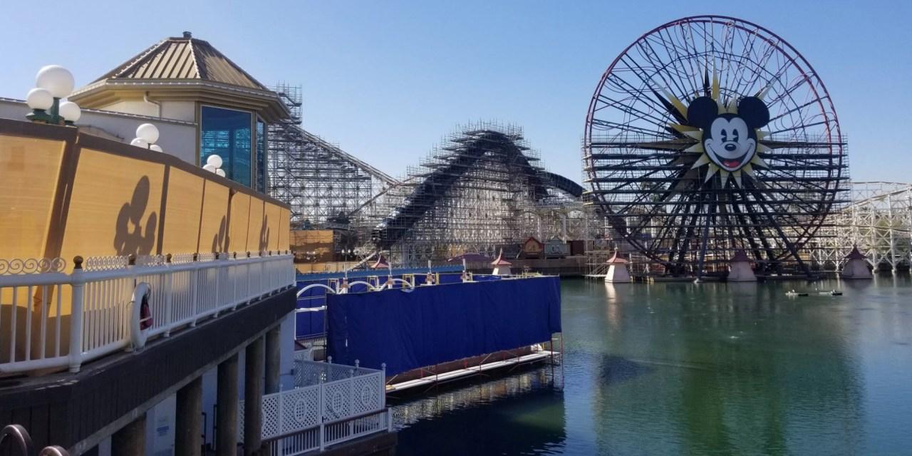 PICTORIAL: Construction all around the Disneyland Resort ahead of spring break crowds