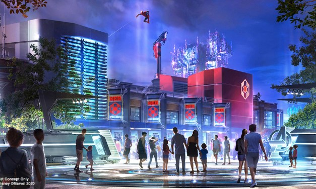 WATCH: Spider-Man confirmed to soar over the rooftops of AVENGERS CAMPUS this summer at Disney California Adventure