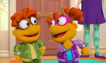 Respect on Skeeter's name! She will make MUPPET BABIES debut with Scooter on May 22