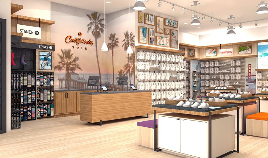 California Sole is replacing Sanuk at Downtown Disney