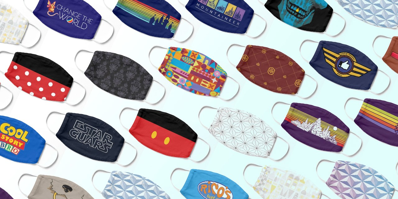 2020 JULY SALE: Disney-related designs on sale now plus face mask savings when you buy four+