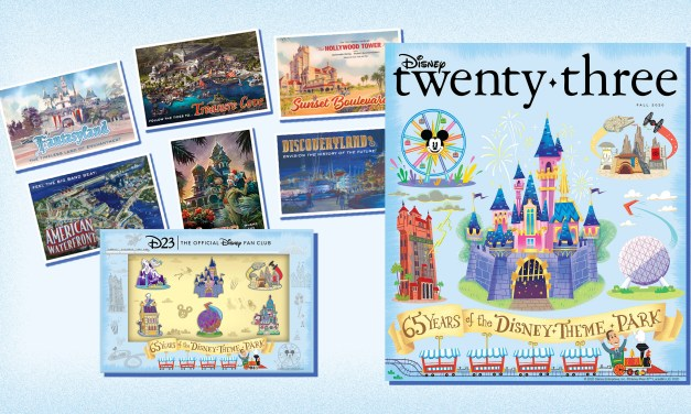 FALL 2020 issue of 'Disney twenty-three' magazine brings member gift, exclusive pin set, #Disneyland65, and more