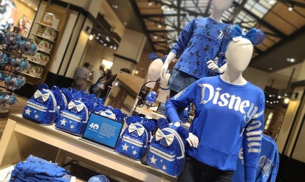 PICTORIAL: Christmas creeps in at Downtown Disney as charitable Blue collection and more arrive