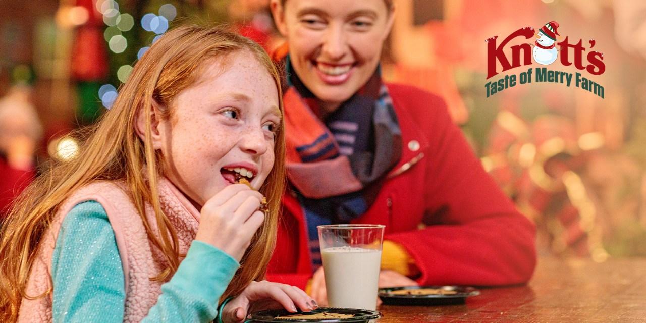 New KNOTT'S TASTE OF MERRY FARM will bring spirited seasonal delights