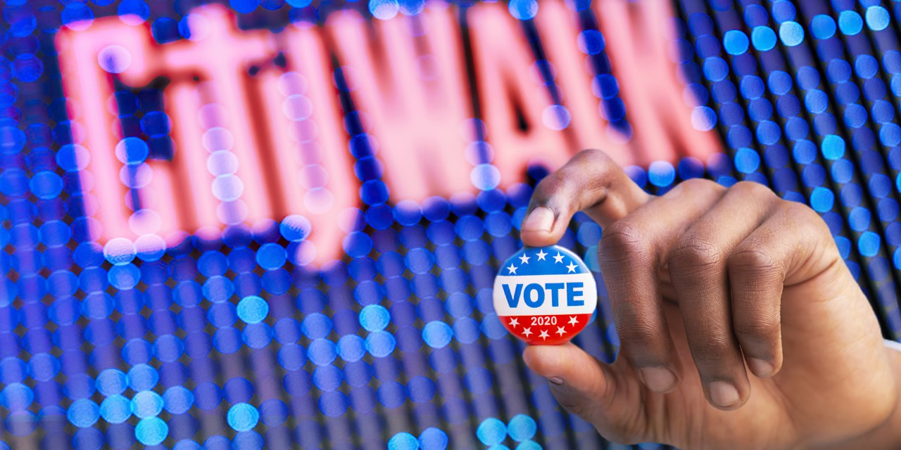Universal CityWalk Hollywood encouraging civic duty as official Vote Center, free parking