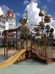 Grand Floridian Resort Water Slide