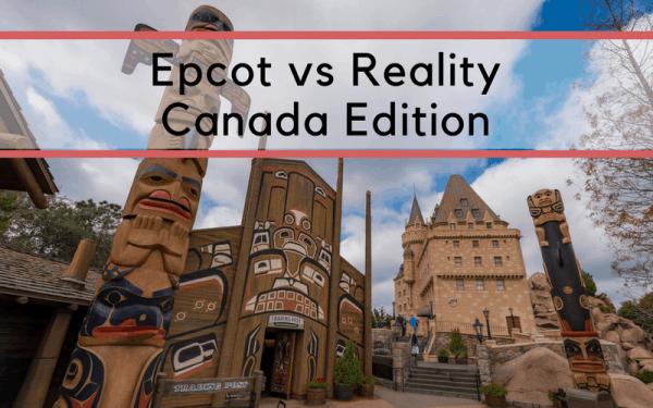 Epcot vs. Reality