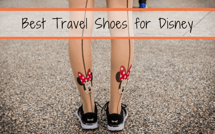 Sneakers or sandals for Disney? Discover the best walking shoes for Disney World. Includes links to cute comfortable shoes for Disney World, the best men's walking shoes for Disney World, and the best socks for walking in Disney.
