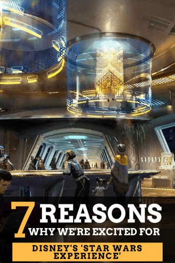 You've probably heard by now that Walt Disney World Resort is getting a Star Wars hotel. Here are some new details that we are learning about this resort! #Disney #WaltDisneyWorld #StarWars #StarWarsHotel #ImmersiveExperience #Disneyvacationplanner #DisneysHollywoodStudios #GalaxysEdge