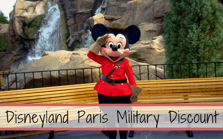 Disneyland Paris Military Discount; what is it and how does it work? Find out how much military members receive off of entrance tickets. #disneylandparis #paris #disney #militarydiscount #discount #military #savemoneyatdisney #thankyouforyourservice