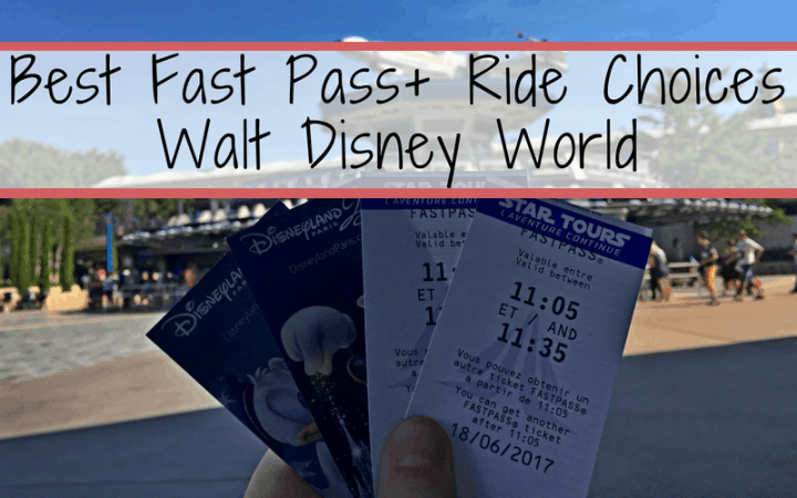 Helpful guide to choosing the best fastpass + rides for Walt Disney World, based on ride popularity and expected wait times in the standby lines. #fastpass #waltdisneyworld #myexperience #disneyworld