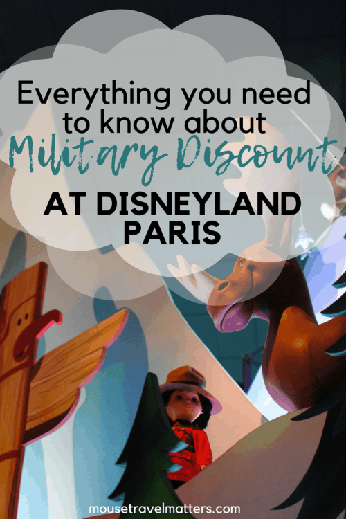 Disneyland Paris Military Discount; what is it and how does it work? Find out how much military memebers receive off of entrance tickets. #disneylandparis #paris #disney #militarydiscount #discount #military #savemoneyatdisney #thankyouforyourservice
