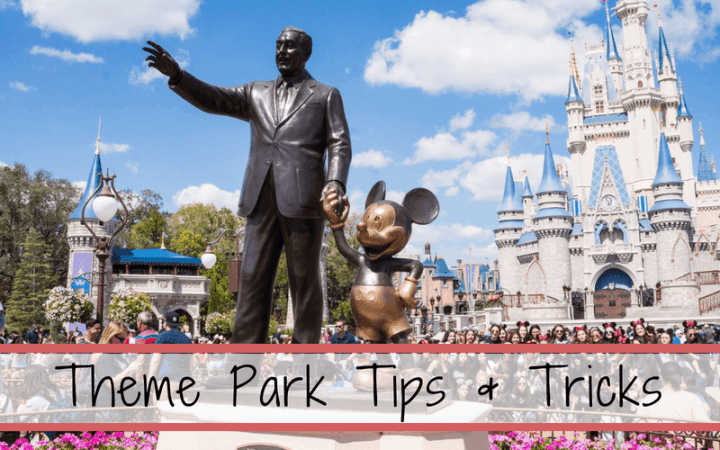 Theme park tips with kids and how to improve your already amazing vacation