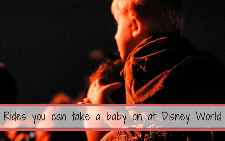 What rides can you take a baby on at Disney World?