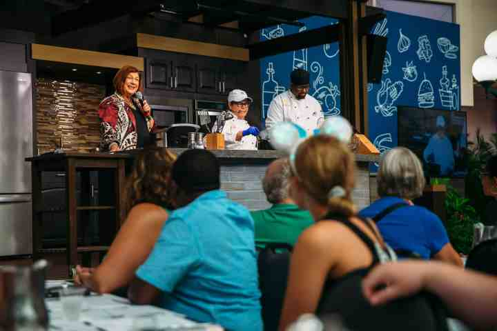 Interactive demonstrations and hands-on workshops offer ways for guests to learn from culinary experts. The festival features more than 30 global marketplaces showcasing edible and drinkable delights.