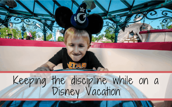Disciplining on your Disney Vacation can be a necessary evil. Help keep your kids safe and behaved with these tips
