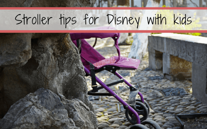 best stroller tips for walt disney world
