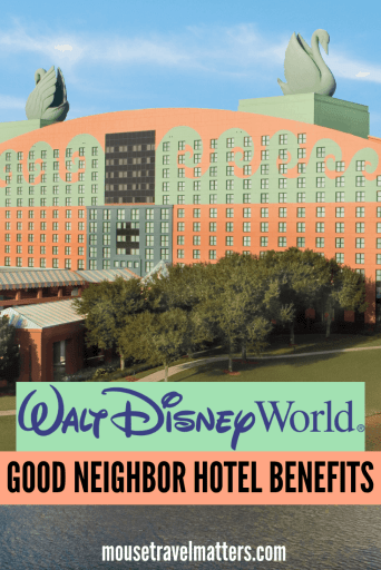 While Walt Disney World Resort Hotel Guests have always enjoyed a number of perks. It now seems that Disney has rolled-out the same benefit to multiple Good Neighbor Hotels