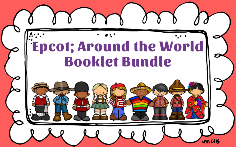 This Epcot WorldShowcase unit is perfect for students in lower elementary school. Fun activities include colouring pages, fast facts from each country and help the children gain a better understanding of the pavilions before and after their vacation.